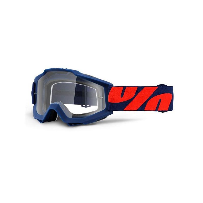lunettes masque cross 100 accuri goggle raleigh ecran clair. Black Bedroom Furniture Sets. Home Design Ideas