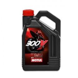 HUILE  MOTEUR MOTUL 300V FACTORY LINE OFF ROAD 5W40  4T 100% SYNTHETIC 4 LITRES
